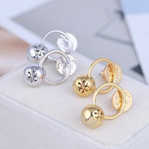 Tory Burch Ring Personality Fashion Earrings
